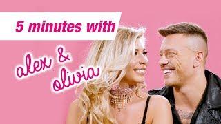 5 Minutes with Alex & Olivia | Love Island | Q&A | Tanning