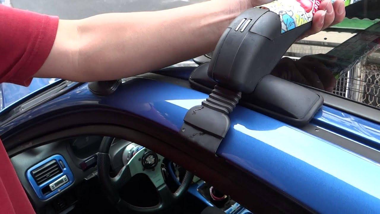 車頂架安裝教學 - YouTube