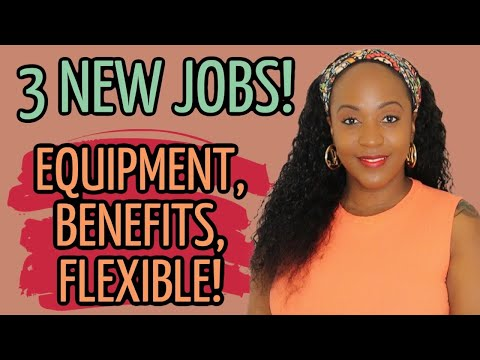 UP TO $20 HOURLY! 3 NEW WORK AT HOME JOBS, NO PHONE INCLUDED!