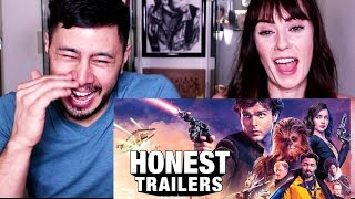 HONEST TRAILERS -  SOLO: A STAR WARS STORY   Reaction!