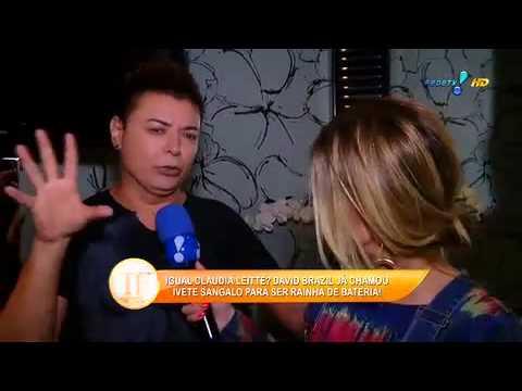 Ivete Sangalo Recusou Convite Para Ser Rainha De Bateria, Diz David Brazil - TV Fama 18/09/2014