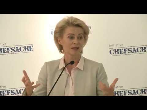 Chefsache: Impulsstatement der Bundesministerin der Verteidigung, Ursula von der Leyen