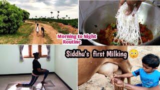நம்ம siddhu என்ன செய்கிறான் பாருங்க👦 My workout routine & what I eat in a day/Traditional Idiyappam