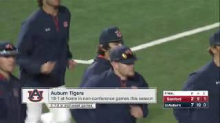 Auburn Baseball vs Samford Highlights