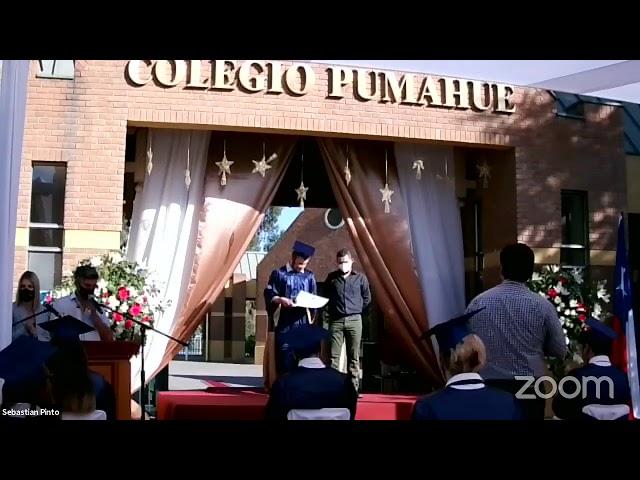 Graduación IV° medios Colegio Pumahue Peñalolén (Grupo 1, 23/12)