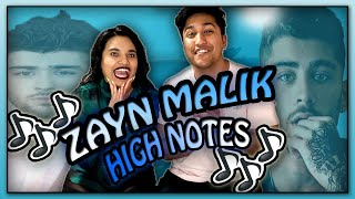 WE REACT TO ZAYN MALIK BEST VOCALS HIGH NOTES