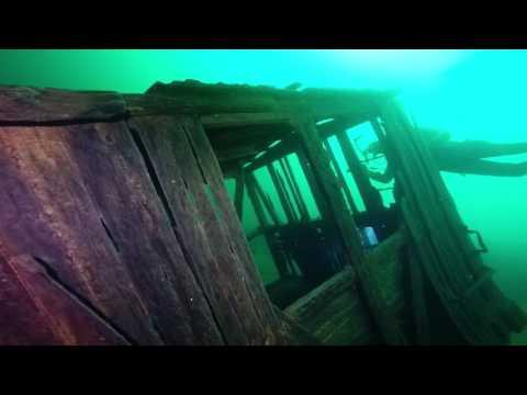 Kootenay Lake Procter Wreck from 1901