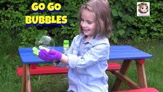 GO GO BUBBLES 🔮 Wir testen die magischen Seifenblasen | Zuru Toys