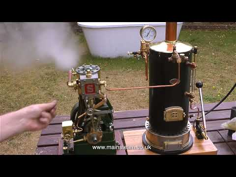 A COAL FIRED STEAM TEST OF THE CASTLE STEAM V6 BOILER - PART #1