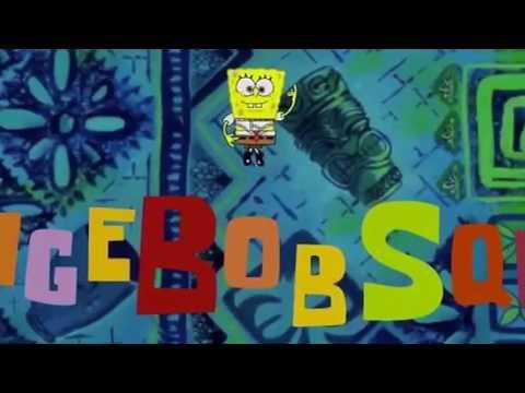 SpongeBob SquarePants theme song 16:9 aspect ratio in G ...