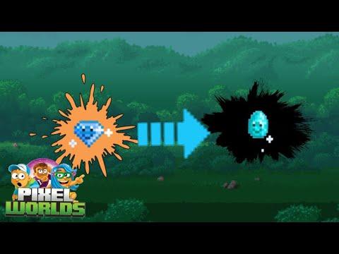Upgrading Gemmy To Jewly! Road To Rubie #2 | Pixel Worlds