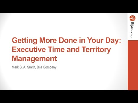 How Executives Get More Done in Day: Executive Time Management Secrets