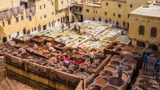 FES is the LARGEST medina in the world - Morocco Episode 04