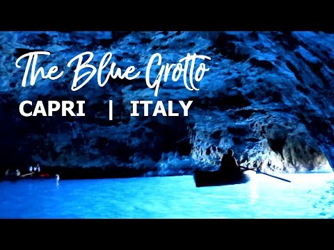 Blue Grotto, Capri, Italy | Grotta Azzurra, Italia from YouTube · Duration:  4 minutes 19 seconds