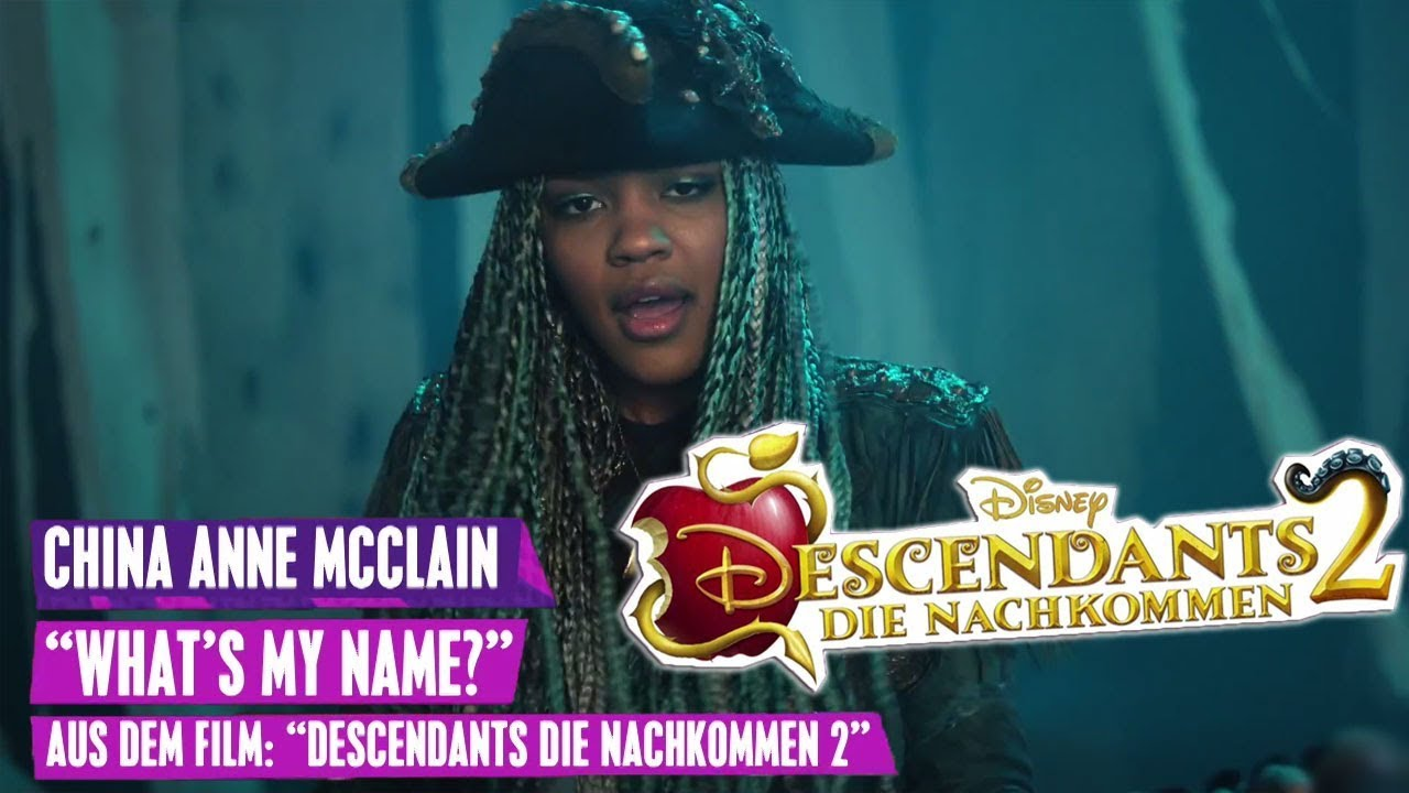 Descendants 2 China Anne Mcclain What S My Name
