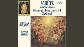 Il primo libro de Madrigali, Op. 1: IV. Alma afflitta, SWV 4