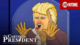 'COVID-Positive Cartoon Trump Watches the VP Debate' Ep. 314 Cold Open | Our Cartoon President