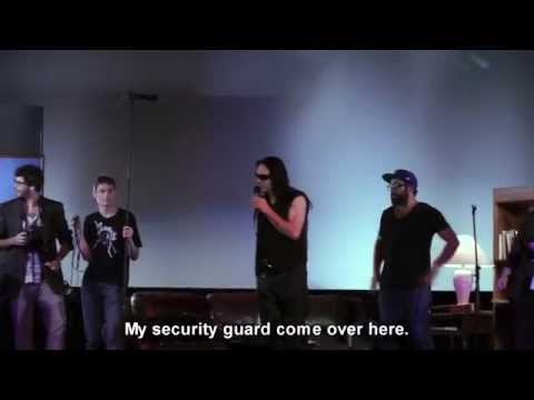 Tommy Wiseau, Master Class @TheRio [1080p] Rare Footage