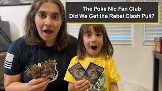 The Fan Club Rips Pokémon Sword & Shield Rebel Clash Packs for Great Pulls!