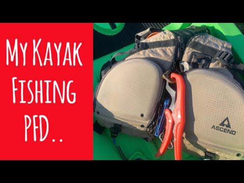 My Kayak Fishing PFD   What Gear Do I Carry On My Kayak Fishing Personal Floatation Device