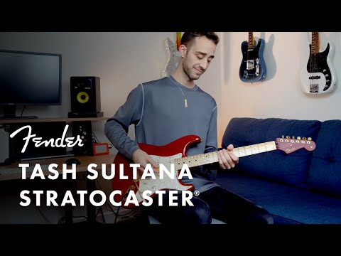 Exploring The Tash Sultana Stratocaster   Artist Signature Series   Fender
