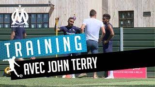 Entrainement avec John Terry 🙌