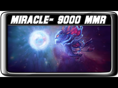 EPIC Miracle- Puck 9000 MMR Dota 2 Play
