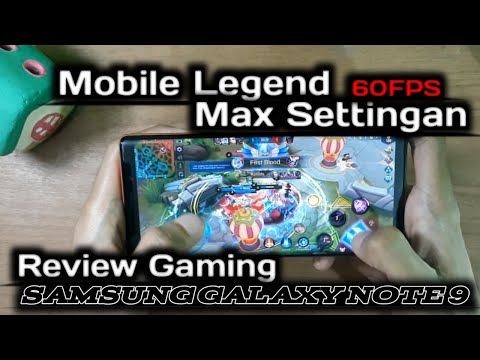 Samsung Galaxy Note 9 Gaming Test Indonesia Mobile Legend