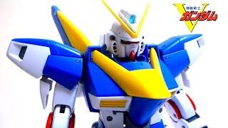 【機動戦士Vガンダム】完全変形!MG V2ガンダム 1/100 & 光の翼 ヲタファのガンプラレビュー / VGundam MG V2 Gundam 1/100 wotafa's review