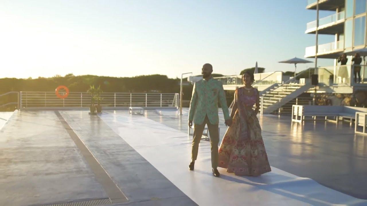 Nejal & Dharmit Wedding Dec 2019 by Lisbon Wedding Planner