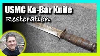 USMC Ka-Bar Knife Restoration