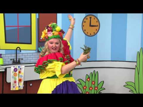 Madame Fruitée danse : Asperge