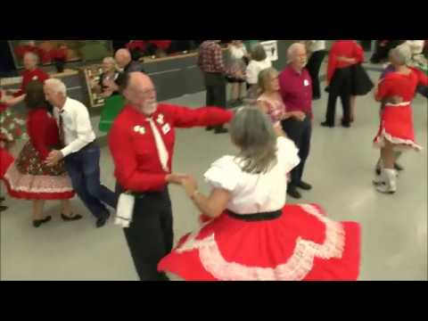 Square Dancing Grape Stompers Christmas Ball Dec 2017 Jerry Junck