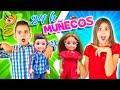 24 HORAS SIENDO MUÑECOS - Lara y Niko visitan Anima Toys