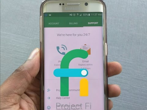 Samsung S6 running Project Fi