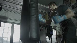 Тренировки Головкина перед боем с Джейкобсом