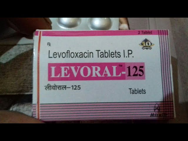 LEVORAL - 125 tablet ( ???? ????? ?? ???? ????? Antibiotic ) Use and Side Effect Full Hindi Reviews