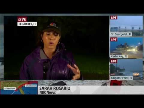 Hurricane Hermine nears Florida, Sarah Rosario reports for The Weather Channel
