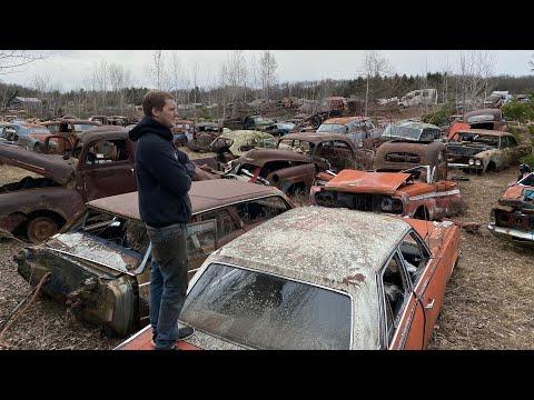 Classic Car Junkyard Exploring!