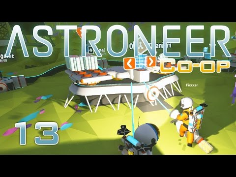 Astroneer Co-op Gameplay | Episode 13: Hematite Iron Ore [Let