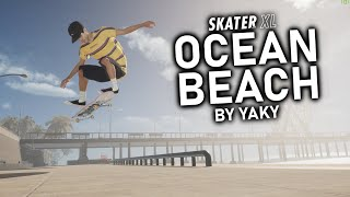 AMAZ NG New Ocean Beach Map In Skater XL PC  Nsane Lines Realistic Montage