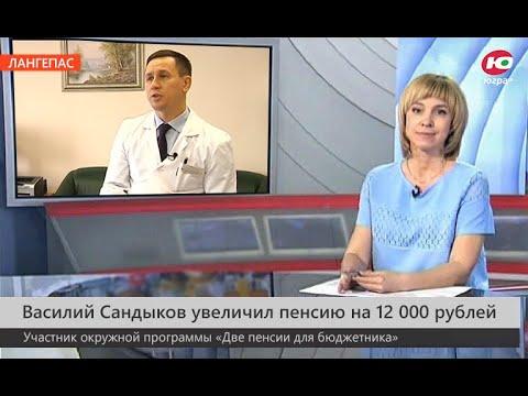 """Отзыв о программе """"Две пенсии для бюджетников"""". Василий Сандыков, Лангепас."""