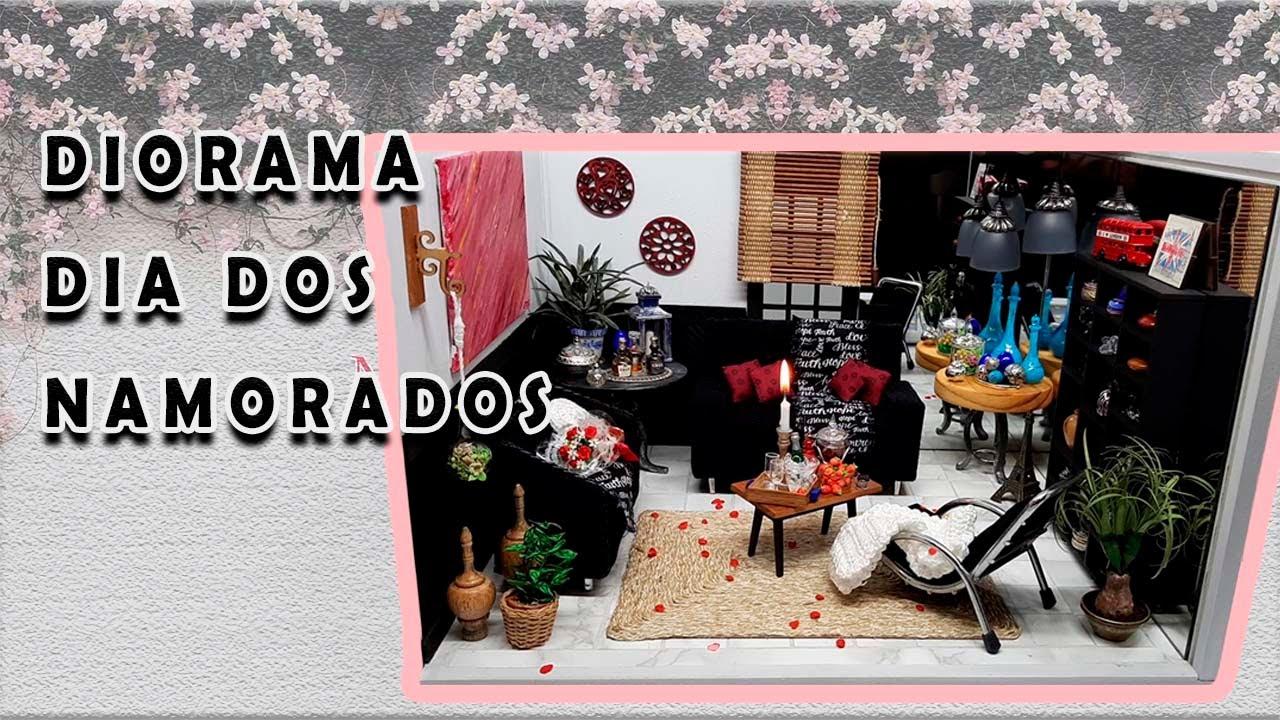 DIY DIORAMA DIA DOS NAMORADOS DIY DIORAMA VALENTINE'S DAY