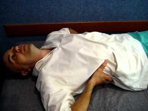 техника массажа при остеохондрозе в картинках поясница