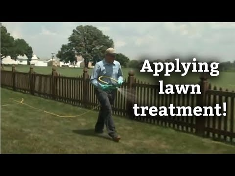 How to Apply Lawn Treatments -- Lawn Care Application Methods
