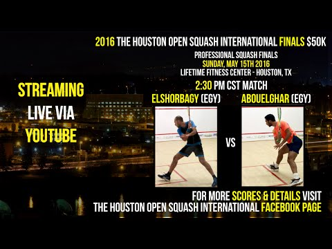 2016 The Houston Open Squash International Finals $50K