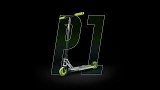 Madd Gear MGP MGX P1 Pro Stunt Scooter-Gris//Lime