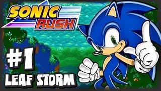 Sonic Rush (1080p) - Sonic - Part 1 Leaf Storm