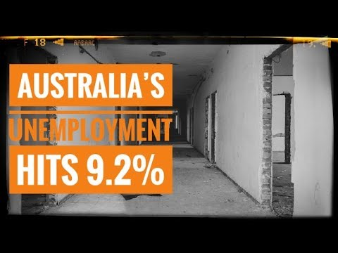 Australia's Unemployment Rate Hits 9.2%