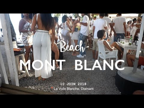 Beach party dans le sud de la Martinique